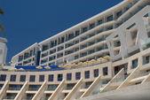 Beach hotel — Stock Photo