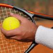 Tennis serve — Stock Photo