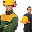 Builders team - Stockfoto