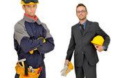 Builders team — Stock Photo