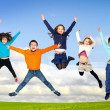 children jumping — Stock Photo #26299263
