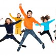 Children jumping — Stock Photo #26604421