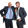 Stock Photo: Businessmen