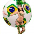 Brasil Copa do mundo 2014 — Foto Stock