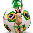 Brazil World cup 2014 — Stock Photo
