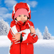 Stock Photo: Girl in winter