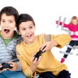 Video games time — Stock Photo