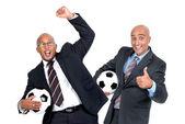 サッカー愛好家 — ストック写真