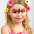 Face painting, ladybug — Stock Photo #37776031
