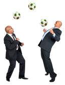 Fotboll älskare — Stockfoto