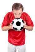 Football love — Stock Photo