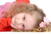 Beautiful young girl — Stock Photo