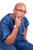 Afrikaanse arts denken — Stockfoto