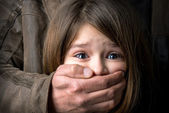 Child abuse — Stock Photo