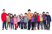 Gruppe von kindern — Stockfoto