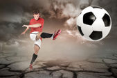 Football is comming — Stockfoto