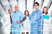 Equipo de doctores — Foto de Stock