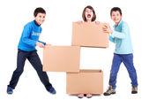 Kids fun — Stock Photo