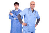 Two Doctors — Stock Photo