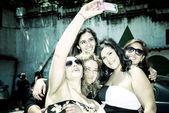 Women taking a selfie — Stock Photo