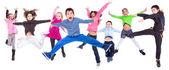 Children jumpng — Stock Photo