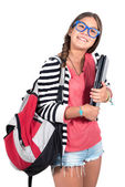 Teen girl  Student — Stock Photo