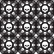 Skull pattern — Vector de stock