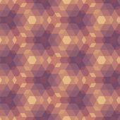 米色紫罗兰色几何图案. — 图库矢量图片