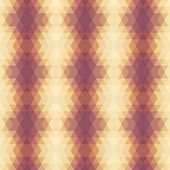 Bege violeta padrão geométrico. — Vetor de Stock