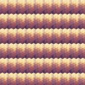 Béžová fialová geometrický vzor. — Stock vektor