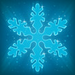Shiny Snowflake. — Stock Vector