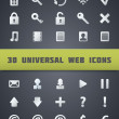 Universal Web Icons. — Stock Vector