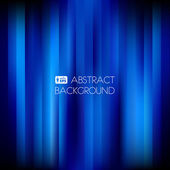 Blue Abstract Striped Background. — Stock Vector