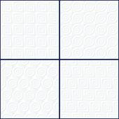 抽象 geomteric 模式设置. — 图库矢量图片