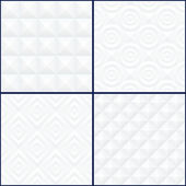 Abstract Geomteric Patterns Set. — Stock Vector