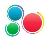 Elementos coloridos pasos infografía — Foto de Stock