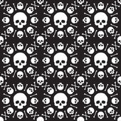 Skull pattern — Stock Photo
