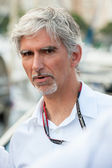 Damon Hill, former Formula One driver and World Champion — Stock Photo