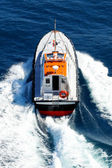 Pilot boat in navigation — Stock Photo