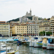 Marseille old port, France — Stock Photo