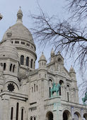 Basilica Sacre Coeur in Paris — Stock Photo