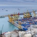 Cargo Port in Barcelona. — Stock Photo #42461317