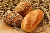 Brot und Brötchen — Stock Photo
