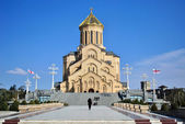 Holy Trinity Cathedral, Tbilisi, Georgia — Stock Photo
