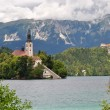 Assumtpion Church, Bled, Slovenia — Stock Photo