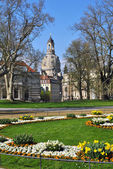 Dresden in spring — Stock Photo
