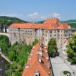 Castle in Cesky Krumlov, Czech Republic — Stock Photo