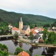 Rozmberk nad Vltavou, Czech Republic — Stock Photo