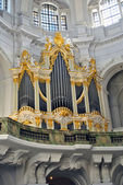 Majestic church organ — Stock Photo