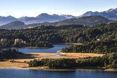 Nahuel Huapi lake, Patagonia Argentina, from Panoramic Point near Bariloche — Stock Photo